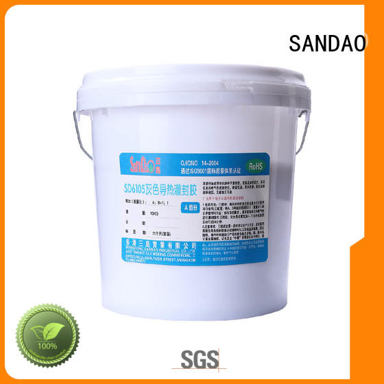 SANDAO Two-component addition-type potting adhesive TDS supply for ceramic parts