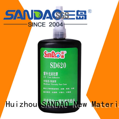 SANDAO inexpensive uv bonding glue from manufacturer for fixing products