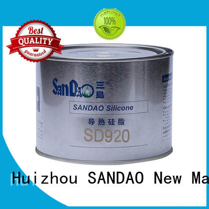 SANDAO heat Thermal conductive material TDS bulk production for heat sink