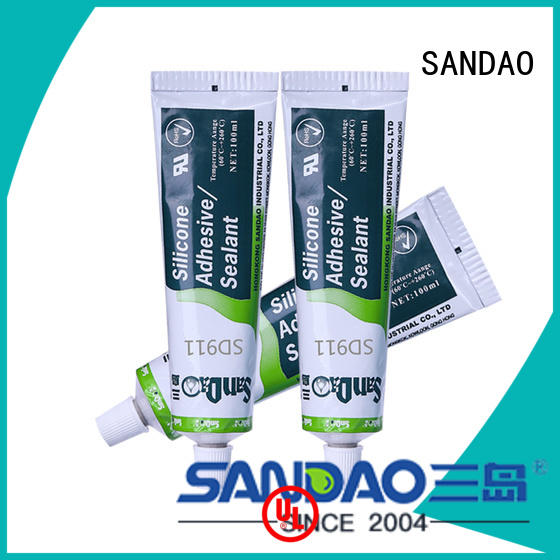 SANDAO new-arrival One-component RTV silicone rubber TDS factory for electronic products