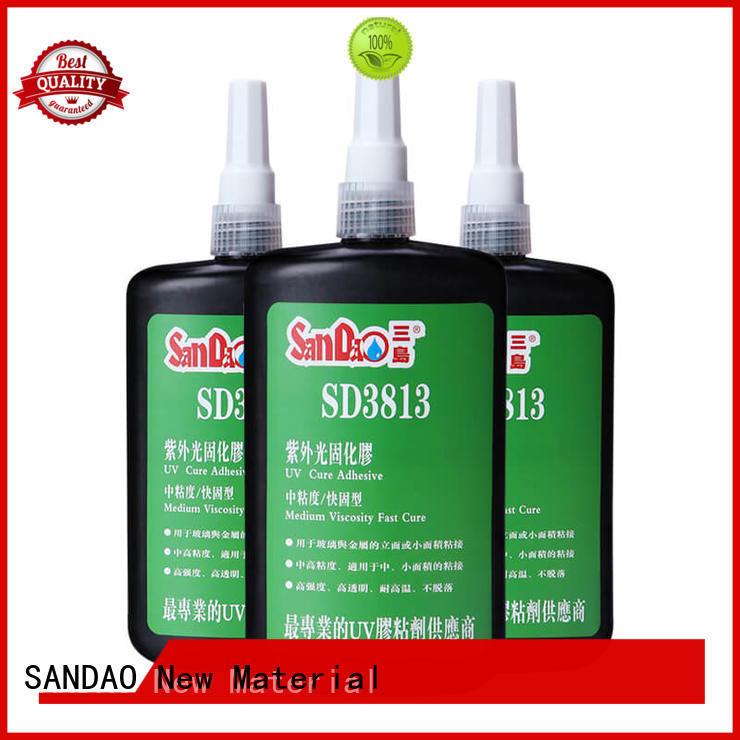 uv glue for glass glue general SANDAO Brand UV glue