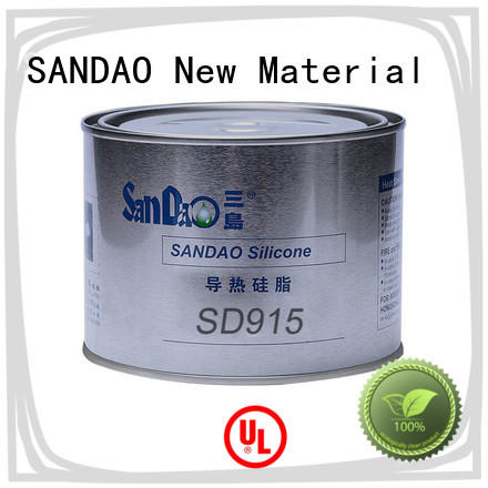 SANDAO heat Thermal conductive material TDS order now for TV power amplifier tube