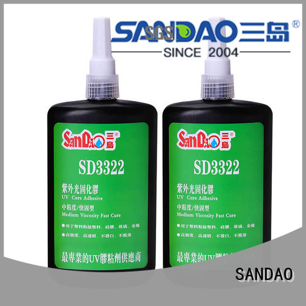 SANDAO nice uv bonding glue check now for electronic products