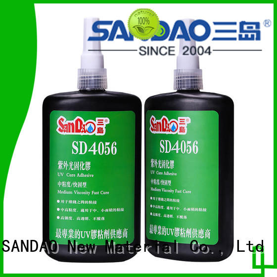 SANDAO good-package uv bonding glue for wholesale for fixing products