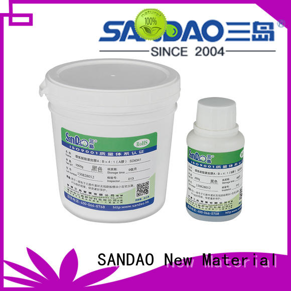 SANDAO twocomponent Two-component addition-type potting adhesive TDS widely-use for rubber parts