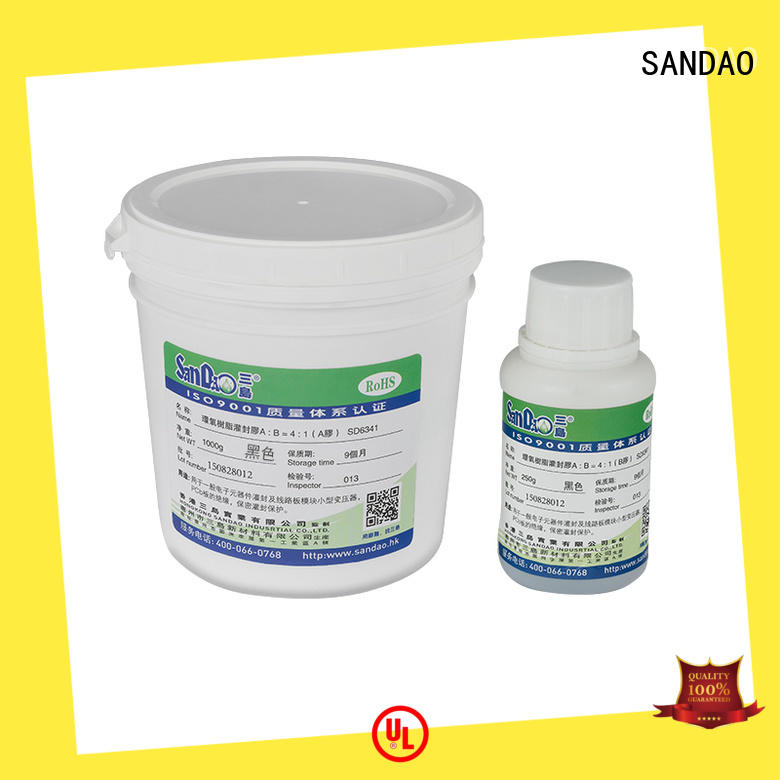 SANDAO durable Two-component addition-type potting adhesive TDS  supply for metalparts