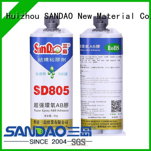 2 part epoxy adhesive potting for heat sink SANDAO