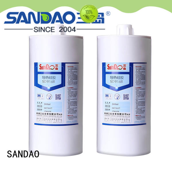 SANDAO heat One-component RTV silicone rubber TDS producer for substrate