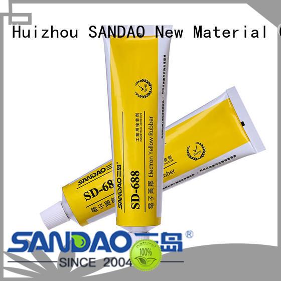 SANDAO high-energy rtv silicone sealant for screws