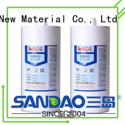 SANDAO flameretardant rtv silicone rubber certifications for screws