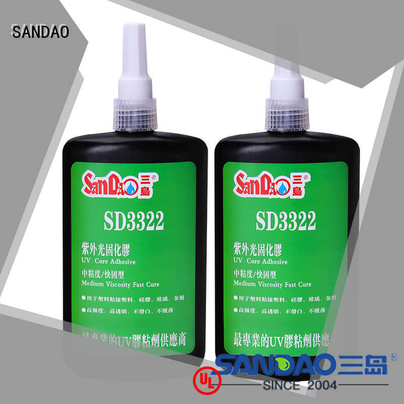excellent uv adhesive for glass factory price for electronic products