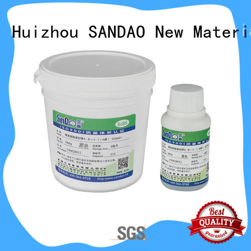 SANDAO silicon Two-component addition-type potting adhesive TDS widely-use for glass parts