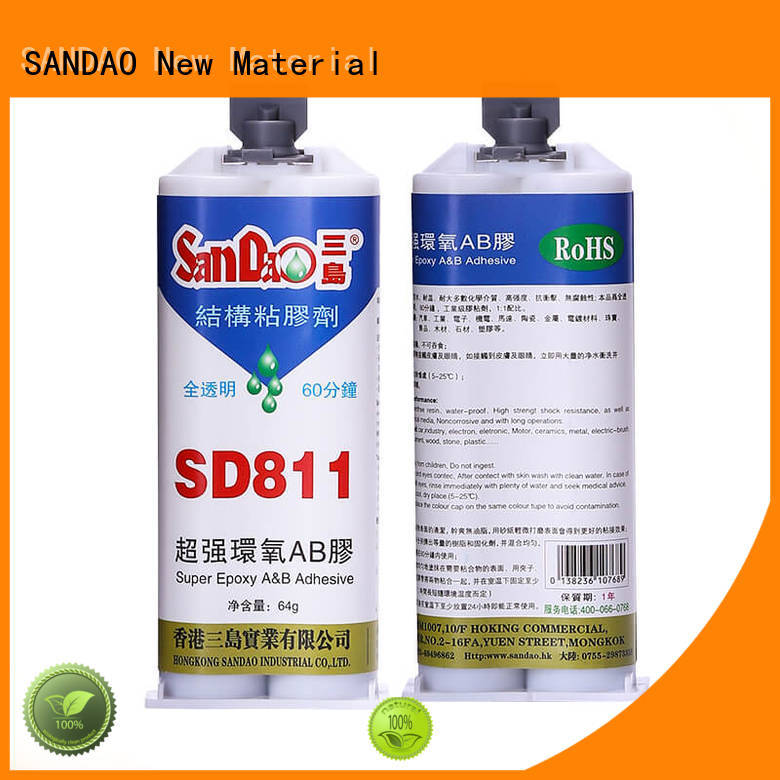 SANDAO inexpensive epoxy adhesive structural for coffee pot gap filling