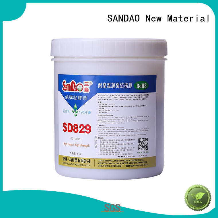 high temperature resistant epoxy resin AB adhesive SD829