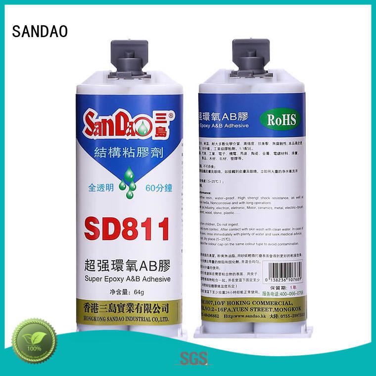 SANDAO comfortable best epoxy glue adhesive for coffee pot gap filling