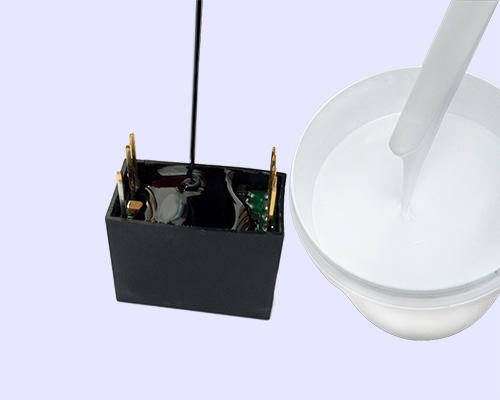 SANDAO electronic Two-component addition-type potting adhesive TDS supplier for electroplating