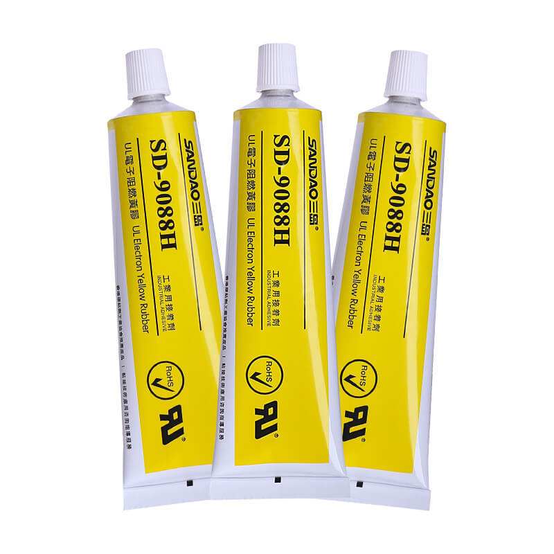 Electronic flame retardant yellow adhesive SD9088H