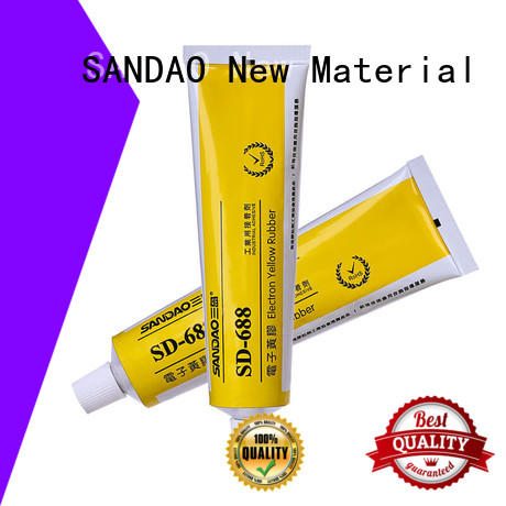 SANDAO high-energy One-component RTV silicone rubber TDS wholesale for screws