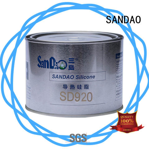 SANDAO quality Thermal conductive material TDS free design for heat sink