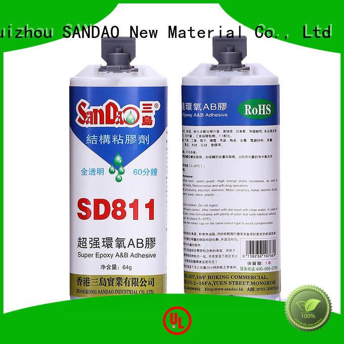 SANDAO resistant epoxy ab glue bulk production for induction cooker