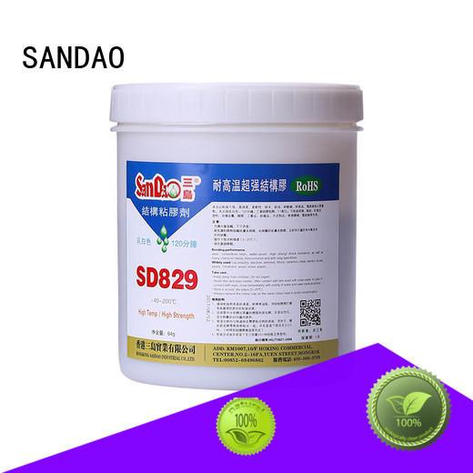 SANDAO inexpensive epoxy resin sealant for TV power amplifier tube