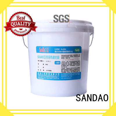 electronic ge rtv silicone heatconductive for electronic parts SANDAO