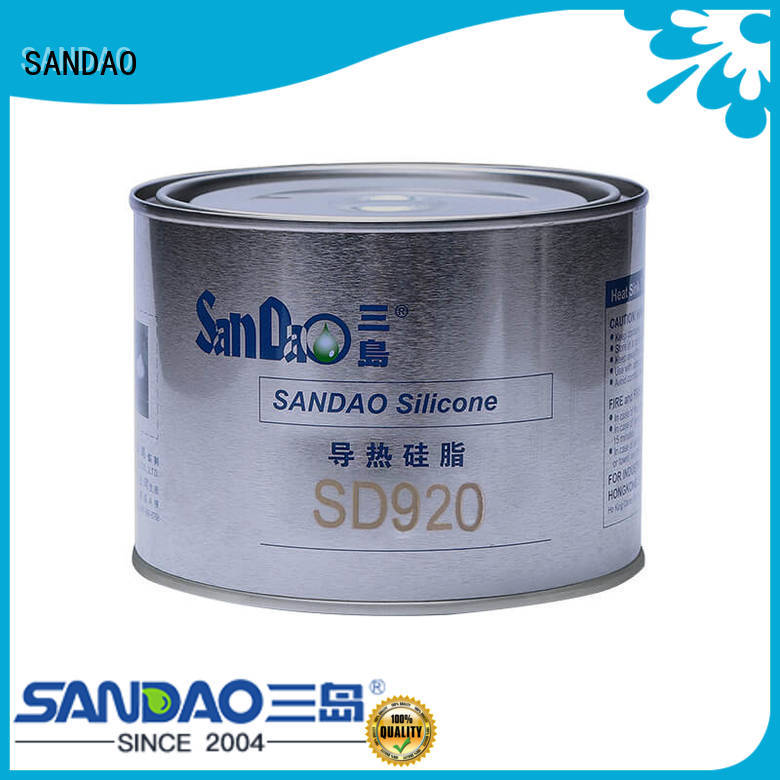 SANDAO superior Thermal conductive material TDS free design for Semiconductor refrigeration