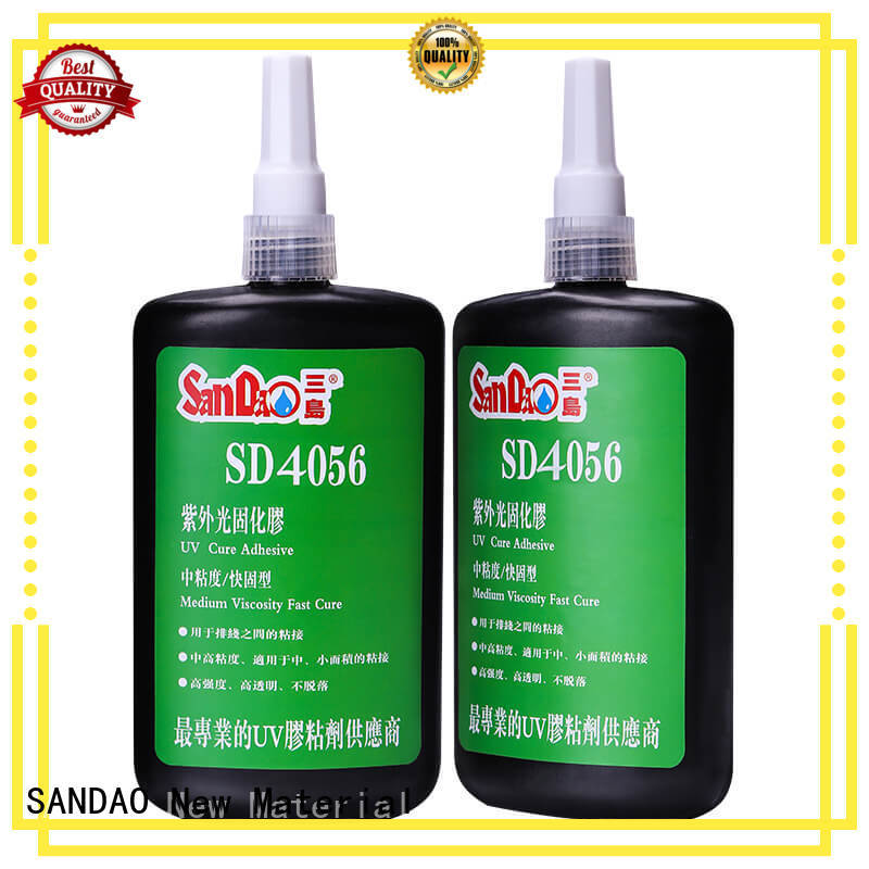 SANDAO metal uv bonding glue factory price for electronic products