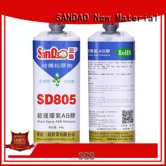 SANDAO inexpensive 2 part epoxy adhesive order now for electronic products