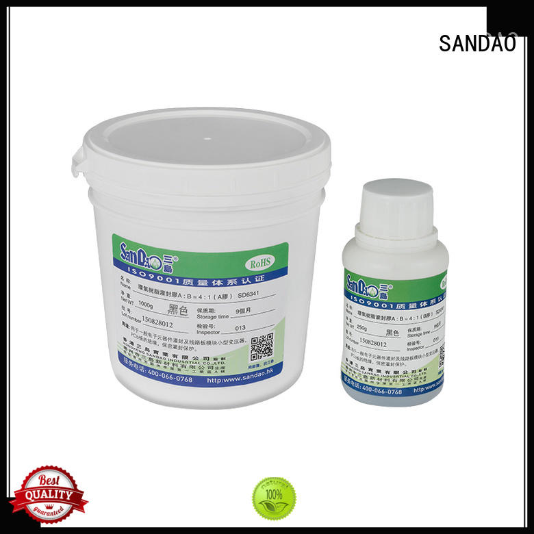 fine- quality Two-component addition-type potting adhesive TDS epoxy  manufacturer for metalparts