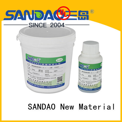 SANDAO useful Two-component addition-type potting adhesive TDS vendor for fixing products