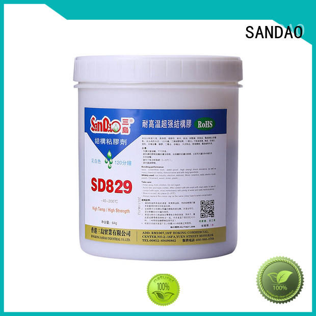 SANDAO popular epoxy resin at discount for coffee pot gap filling