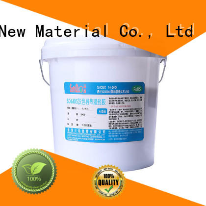SANDAO durable Two-component addition-type potting adhesive TDS supply for glass parts