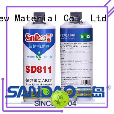SANDAO parts ab glue factory price for heat sink