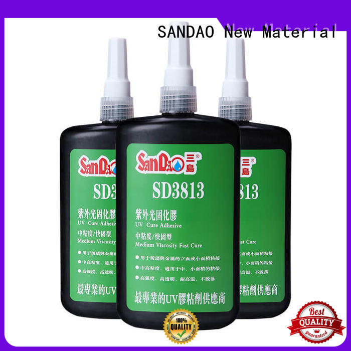 SANDAO first-rate uv bonding glue bulk production for fixing products