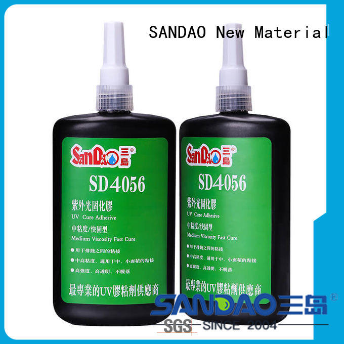 first-rate uv adhesive for glass for wholesale for fixing products SANDAO
