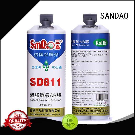 SANDAO inexpensive epoxy resin bulk production for TV power amplifier tube
