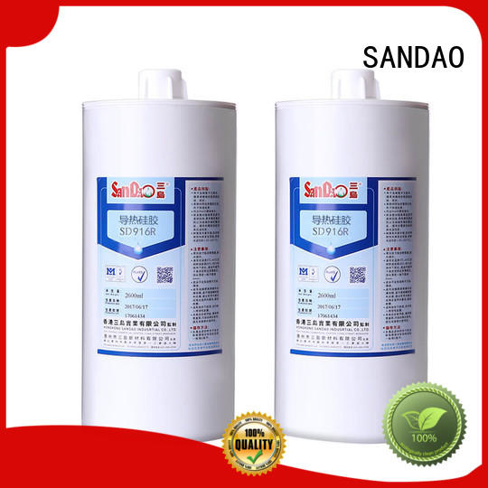 SANDAO new-arrival One-component RTV silicone rubber TDS certifications for diode