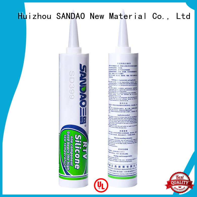 SANDAO hot-sale rtv silicone rubber certifications for diode