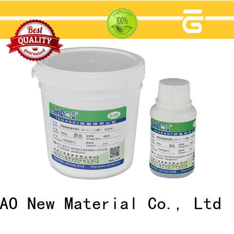ge rtv silicone factory for glass parts SANDAO