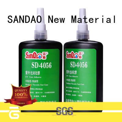 SANDAO curing uv bonding glue at discount for screws