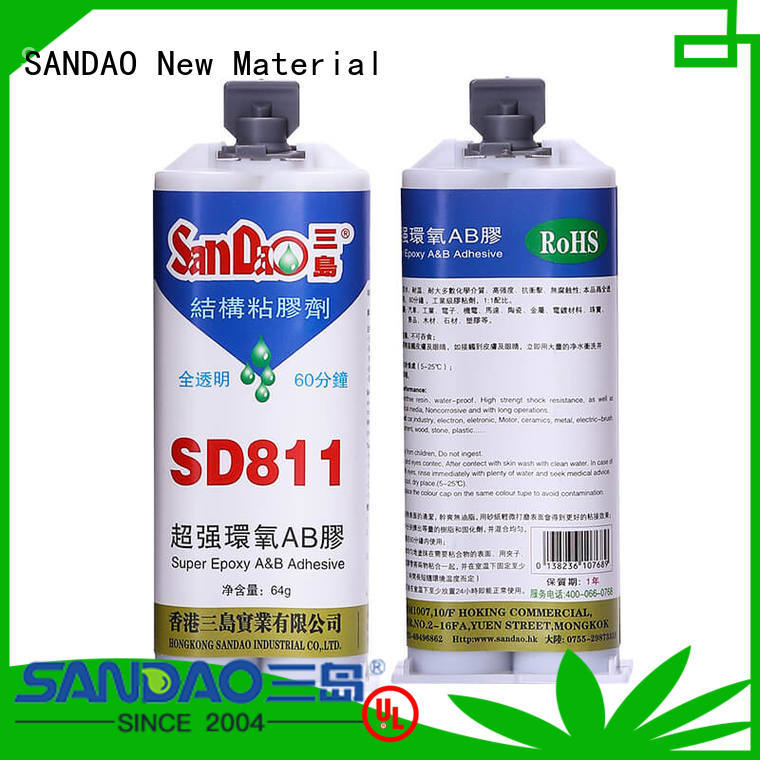 SANDAO adhesive ab glue at discount for coffee pot gap filling
