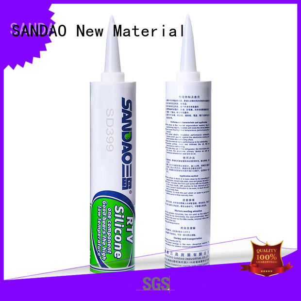 newly One-component RTV silicone rubber TDS retardant certifications for diode