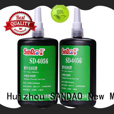 SANDAO glass uv bonding glue from manufacturer for electrical products