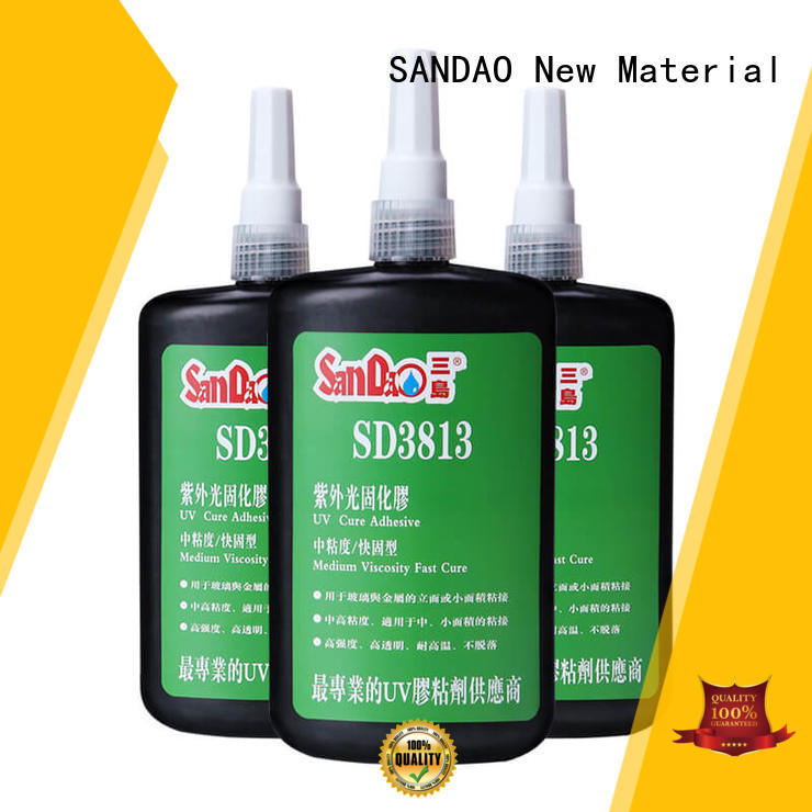 curing uv bonding glue from manufacturer for electronic products SANDAO