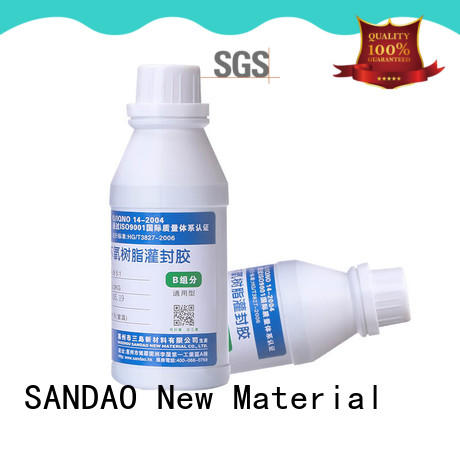 hot-sale Two-component addition-type potting adhesive TDS sealant producer for ceramic parts