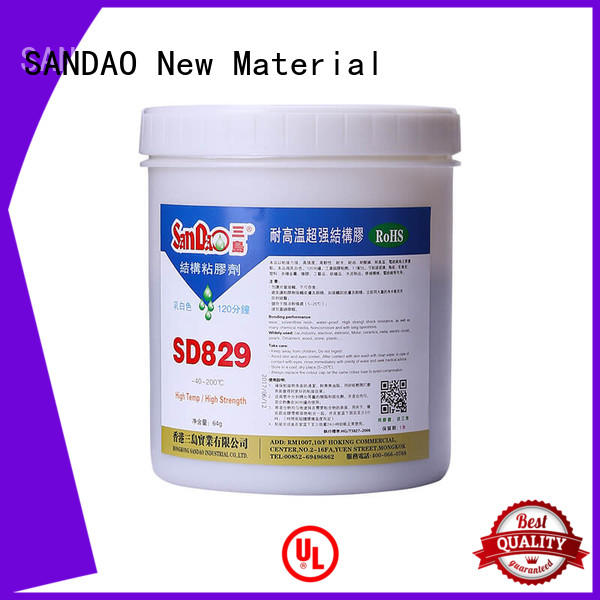 SANDAO comfortable Two-component epoxy structure bonding from manufacturer for Semiconductor refrigeration