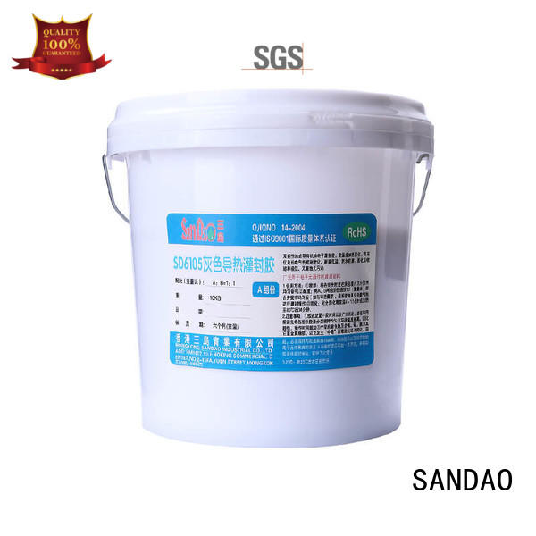 durable ge rtv silicone  supply for fixing products SANDAO