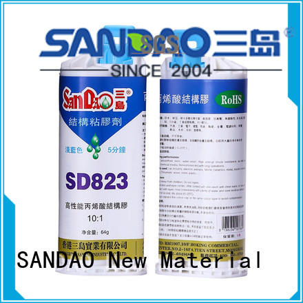 epoxy resin adhesive resistant substrate SANDAO Brand Two-component epoxy structure bonding
