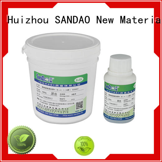 SANDAO awesome Two-component addition-type potting adhesive TDS certifications for metalparts